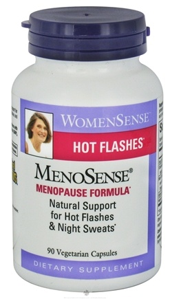 Natural Factors - WomenSense MenoSense Hot Flashes Menopause Formula - 90 Capsules
