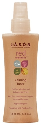 DROPPED: Jason Natural Products - Toner Calming Red Elements All types - 4.5 oz.