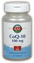 DROPPED: Kal - CoQ-10 100 mg. - 30 Tablets