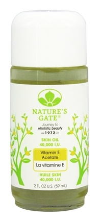 Nature's Gate - Vitamin E Acetate Skin Oil 40000 IU - 2 oz.