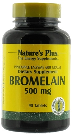 DROPPED: Nature's Plus - Bromelain 500 mg. - 90 Tablets