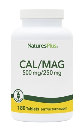 Nature's Plus - Cal/Mag 500/250 Mg - 180 Tablets