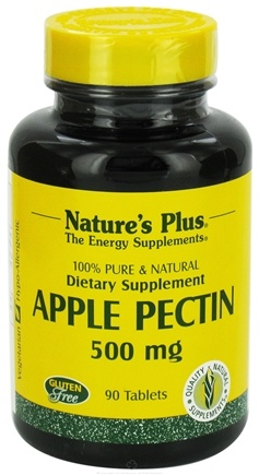 DROPPED: Nature's Plus - Apple Pectin 500 mg. - 90 Tablets CLEARANCE PRICED