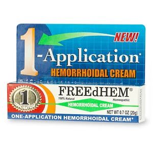 DROPPED: Natural Freedhym - FREEdHEM Natural Hemorrhoidal Cream