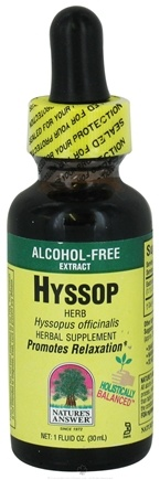 Zoom View - Hyssop Herbs Alcohol Free