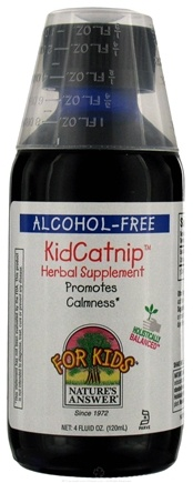 DROPPED: Nature's Answer - Kid Catnip Extract Liquid Clearance Priced - 4 oz.