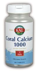 DROPPED: Kal - Coral Calcium - 60 Tablets