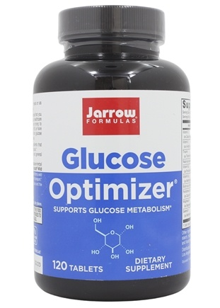 Jarrow Formulas - Glucose Optimizer - 120 Tablets Contains Banaba Leaf