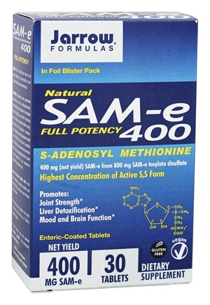 Jarrow Formulas - Sam-e 400 - 30 Tablets