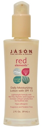 DROPPED: Jason Natural Products - Moisturizing Lotion Red Elements Daily 15 SPF - 2 oz.