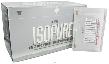 DROPPED: Nature's Best - Perfect Isopure Variety Pack - 20 Pack(s) CLEARANCE PRICED