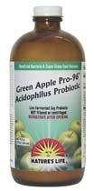 DROPPED: Nature's Life - Green Apple Pro 96 Acidophilus - 16 oz.