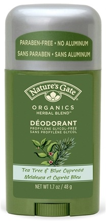 DROPPED: Nature's Gate - Deodorant Stick Organics Herbal Blend Tea Tree & Blue Cypress - 1.7 oz.
