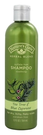 Nature's Gate - Shampoo Organics Herbal Blend Soothing Tea Tree & Blue Cypress - 12 oz.