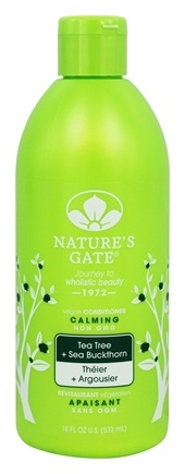 Nature's Gate - Vegan Conditioner Calming Tea Tree + Sea Buckthorn - 18 oz.