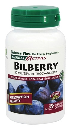 Zoom View - Herbal Actives Bilberry