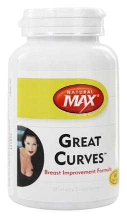 DROPPED: Natural Max - Great Curves Breast Improvement Formula - 60 Capsules