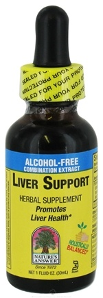 DROPPED: Nature's Answer - Liver Support Alcohol Free - 1 oz. CLEARANCE PRICED