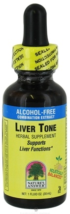 DROPPED: Nature's Answer - Liver Tone Alcohol Free - 1 oz. CLEARANCE PRICED