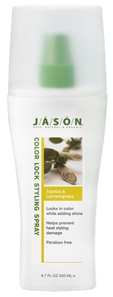 DROPPED: Jason Natural Products - Styling Spray Salon Color Lock Jojoba & Lemongrass - 6.7 oz. CLEARANCE PRICED