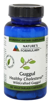 DROPPED: Nature's Formulary - Guggul - 60 Vegetarian Capsules
