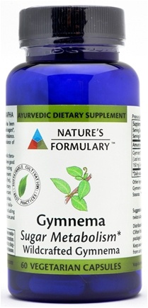 DROPPED: Nature's Formulary - Gymnema - 60 Vegetarian Capsules