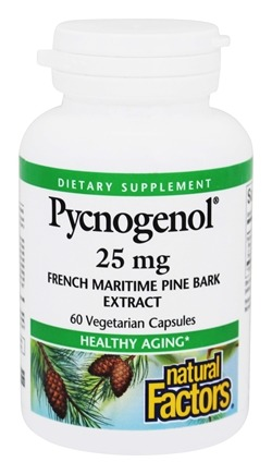 Natural Factors - Pycnogenol 25 mg. - 60 Capsules