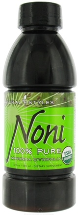 DROPPED: Natural Styles - Noni Pure Juice - 16.9 oz.