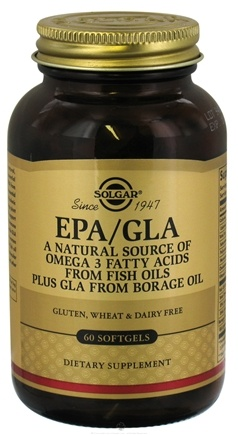 DROPPED: Solgar - EPA/GLA - 60 Softgels CLEARANCE PRICED