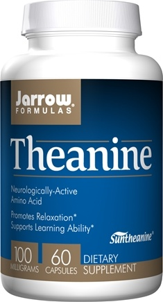 Jarrow Formulas - Theanine 100 mg. - 60 Capsules