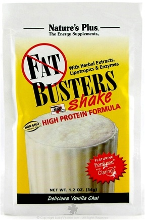 DROPPED: Nature's Plus - Fat Busters Shake Delicious Vanilla Chai - 1 Packet(s)