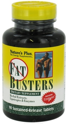DROPPED: Nature's Plus - Fat Busters Sustained Release - 90 Tablets CLEARANCE PRICED