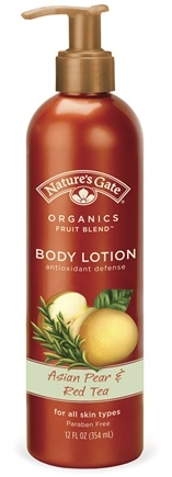 DROPPED: Nature's Gate - Lotion Organics Fruit Blend Asian Pear & Red Tea - 12 oz. CLEARANCE PRICED