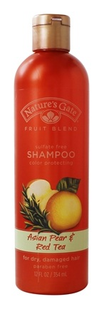Nature's Gate - Shampoo Organics Fruit Blend Rejuvenating Asian Pear & Red Tea - 12 oz.