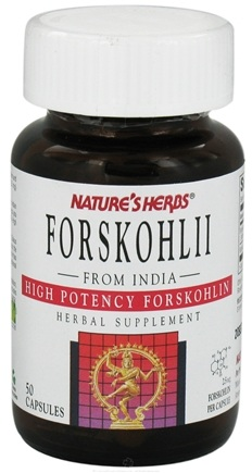 DROPPED: Nature's Herbs - Forskohl - 50 Capsules