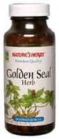 DROPPED: Nature's Herbs - Golden Seal Herb - 100 Capsules