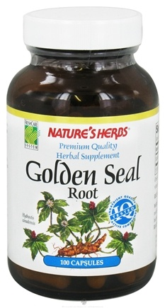 DROPPED: Nature's Herbs - Goldenseal Root - 100 Capsules CLEARANCE PRICED