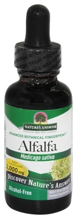 DROPPED: Nature's Answer - Alfalfa Herb Alcohol Free - 1 oz.