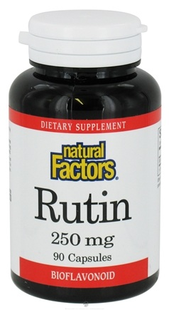 DROPPED: Natural Factors - Rutin 250 mg. - 90 Capsules