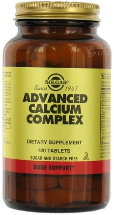 DROPPED: Solgar - Advanced Calcium Complex - 120 Tablets