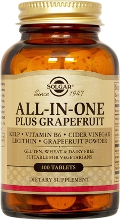 DROPPED: Solgar - All-In-One Plus Grapefruit - 100 Tablets CLEARANCE PRICED