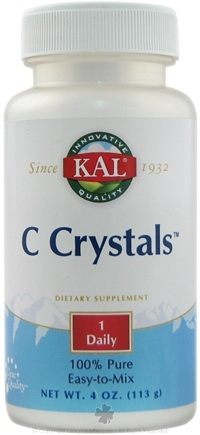 DROPPED: Kal - C Crystals - 4 oz.