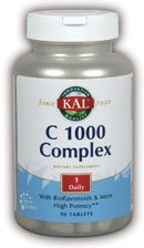 DROPPED: Kal - C-1000 Complex - 90 Tablets