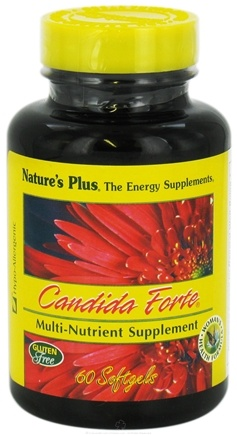 DROPPED: Nature's Plus - Candida Forte - 60 Softgels CLEARANCED PRICED