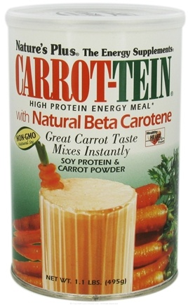 DROPPED: Nature's Plus - Carrot-tein Shake - 1.1 lbs.