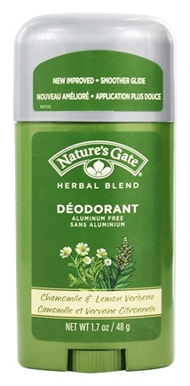 Nature's Gate - Deodorant Stick Organics Herbal Blend Chamomile & Lemon Verbena - 1.7 oz.