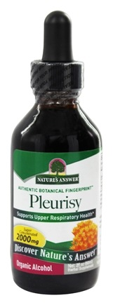 DROPPED: Nature's Answer - Pleurisy Root Organic Alcohol - 2 oz.