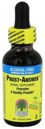 DROPPED: Nature's Answer - Prost-Answer Alcohol Free - 1 oz. CLEARANCE PRICED