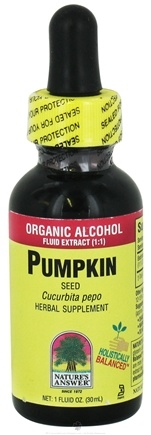 DROPPED: Nature's Answer - Pumpkin Seed Organic Alcohol - 1 oz. CLEARANCE PRICED