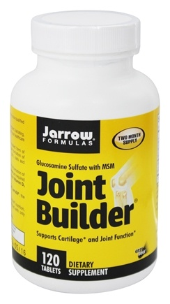 Jarrow Formulas - Joint Builder 750 mg. - 120 Tablets